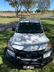 2012 Mazda BT-50 UP0YD1 XT 4x2 Cool White 6 Speed Manual Cab Chassis