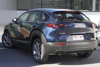 2021 Mazda CX-30 DM2W7A G20 SKYACTIV-Drive Evolve Deep Crystal Blue 6 Speed Automatic Wagon.
