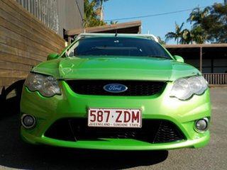 2009 Ford Falcon FG XR6 Super Cab Green 5 Speed Sports Automatic Cab Chassis