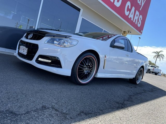 Used Holden Ute VF MY14 SV6 Ute Bundaberg, 2014 Holden Ute VF MY14 SV6 Ute 6 Speed Manual Utility