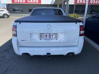 2014 Holden Ute VF MY14 SV6 Ute White 6 Speed Manual Utility