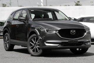 2021 Mazda CX-5 KF4WLA GT SKYACTIV-Drive i-ACTIV AWD Grey 6 Speed Sports Automatic Wagon.