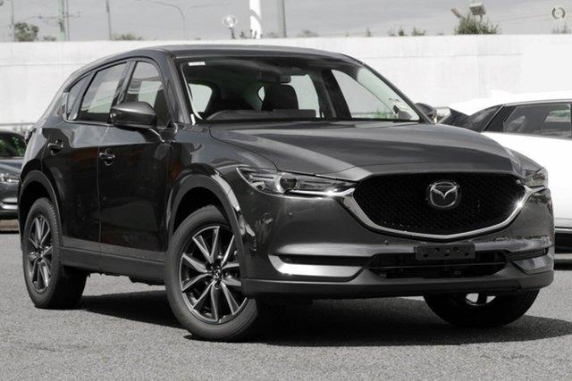 New Mazda CX-5 KF4WLA GT SKYACTIV-Drive i-ACTIV AWD Waitara, 2021 Mazda CX-5 KF4WLA GT SKYACTIV-Drive i-ACTIV AWD Grey 6 Speed Sports Automatic Wagon