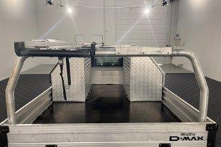 2016 Isuzu D-MAX MY15.5 SX White 5 speed Manual Cab Chassis