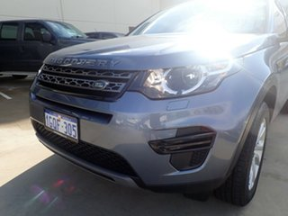 2018 Land Rover Discovery Sport L550 MY18 TD4 (132kW) SE 5 Seat Byron Blue 9 Speed Automatic Wagon.