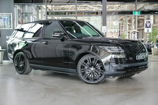 2018 Land Rover Range Rover L405 19MY Autobiography Black 8 Speed Sports Automatic Wagon.