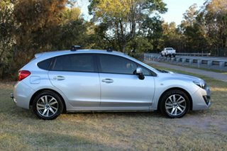2015 Subaru Impreza G4 MY15 2.0i Lineartronic AWD Premium Silver 6 Speed Constant Variable Hatchback