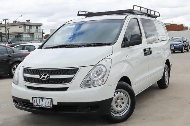 Used Hyundai iLOAD TQ-V MY11 Coburg North, 2011 Hyundai iLOAD TQ-V MY11 White 5 Speed Manual Van