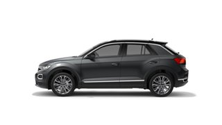 2021 Volkswagen T-ROC A1 110TSI Style Indium Grey 8 Speed Automatic SUV.