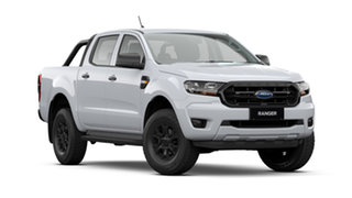 2021 Ford Ranger PX MkIII 2021.75MY XL Arctic White 6 Speed Sports Automatic Double Cab Pick Up.