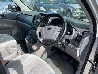 2012 Kia Grand Carnival VQ MY12 SI Silver 6 Speed Automatic Wagon
