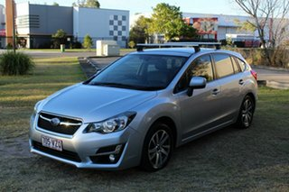 2015 Subaru Impreza G4 MY15 2.0i Lineartronic AWD Premium Silver 6 Speed Constant Variable Hatchback.