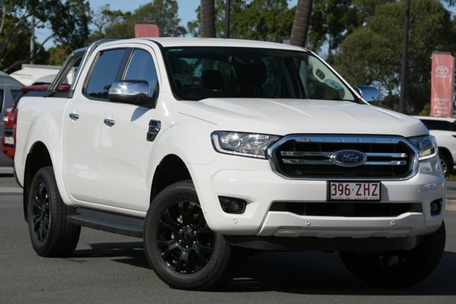 Used Ford Ranger PX MkIII 2019.00MY XLT North Lakes, 2019 Ford Ranger PX MkIII 2019.00MY XLT White 10 Speed Sports Automatic Double Cab Pick Up