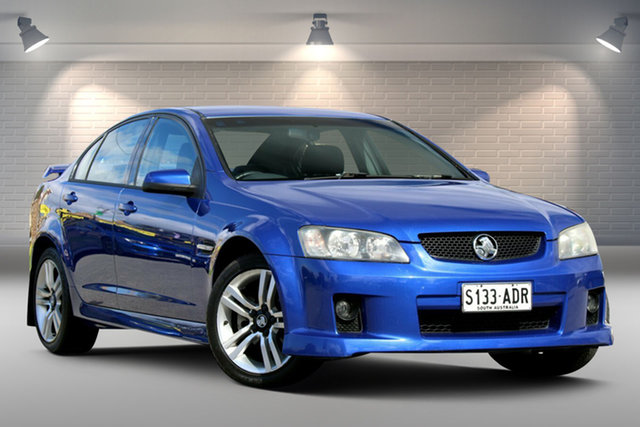 Used Holden Commodore VE SV6 Gepps Cross, 2007 Holden Commodore VE SV6 Blue 5 Speed Sports Automatic Sedan