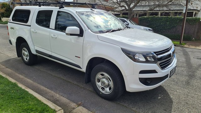 Used Holden Colorado RG MY19 LS (4x4) (5Yr) Prospect, 2019 Holden Colorado RG MY19 LS (4x4) (5Yr) White 6 Speed Automatic Crew Cab Chassis