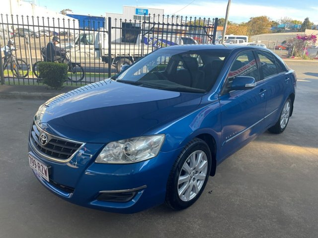 Used Toyota Aurion GSV40R AT-X Toowoomba, 2006 Toyota Aurion GSV40R AT-X Blue 6 Speed Auto Sequential Sedan