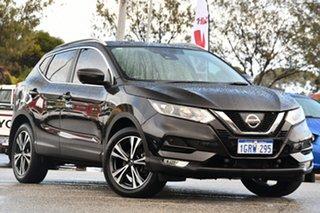 2018 Nissan Qashqai J11 Series 2 ST-L X-tronic Black 1 Speed Constant Variable Wagon.