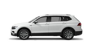 2021 Volkswagen Tiguan 5N 132TSI Comfortline Allspace Pure White 7 Speed Semi Auto SUV.