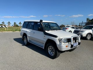 1998 Mitsubishi Pajero NL GLS LWB (4x4) White 4 Speed Automatic 4x4 Wagon.