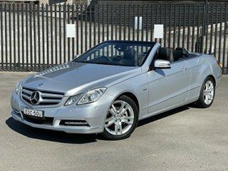 2012 Mercedes-Benz E-Class A207 MY12 E250 BlueEFFICIENCY 7G-Tronic + Avantgarde Silver 7 Speed.