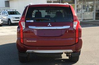 2018 Mitsubishi Pajero Sport QE MY18 GLS Red 8 Speed Sports Automatic Wagon