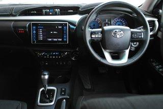 2018 Toyota Hilux GUN126R SR5 Double Cab Black 6 Speed Sports Automatic Utility