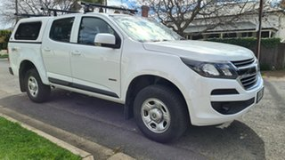 2019 Holden Colorado RG MY19 LS (4x4) (5Yr) White 6 Speed Automatic Crew Cab Chassis.