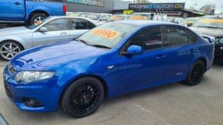 2013 Ford Falcon FG MK2 XR6 Blue 6 Speed Auto Seq Sportshift Sedan.