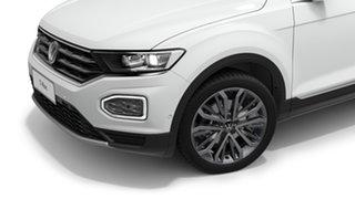2021 Volkswagen T-ROC A1 110TSI Style Pure White 8 Speed Automatic SUV