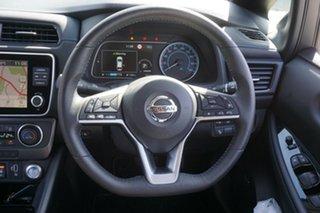 2019 Nissan Leaf ZE1 Arctic White 1 Speed Reduction Gear Hatchback