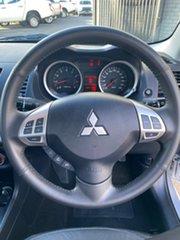 2011 Mitsubishi Lancer CJ MY11 ES Silver 5 Speed Manual Sedan