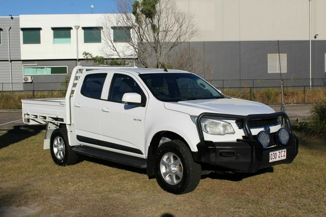 Used Holden Colorado RG MY13 LX Crew Cab Ormeau, 2012 Holden Colorado RG MY13 LX Crew Cab White 6 Speed Sports Automatic Cab Chassis