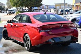 2021 Hyundai i30 CN7.V1 MY21 N Line D-CT Special Edition Fiery Red 7 Speed Manual Sedan.