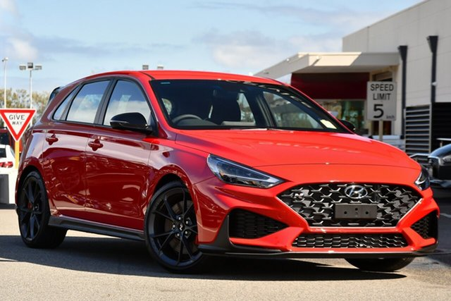 New Hyundai i30 Pde.v4 MY22 N Clarkson, 2021 Hyundai i30 Pde.v4 MY22 N Engine Red 6 Speed Manual Hatchback