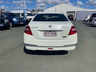 2010 Nissan Maxima J32 250 ST-L White Continuous Variable Sedan