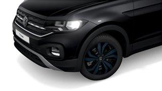 2021 Volkswagen T-Cross C1 85TSI CityLife (Bamboo Garden) Deep Black Pearl Effect 7 Speed Semi Auto