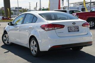 2016 Kia Cerato YD MY17 S White 6 Speed Sports Automatic Sedan.
