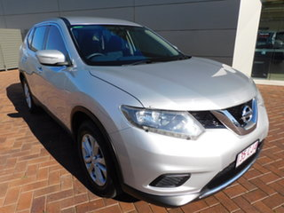 2014 Nissan X-Trail T31 Series 5 ST (FWD) Silver Continuous Variable Wagon.
