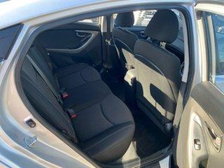 2012 Hyundai Elantra MD Active Silver 6 Speed Automatic Sedan