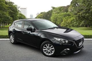 2016 Mazda 3 BM5478 Maxx SKYACTIV-Drive Black 6 Speed Sports Automatic Hatchback.