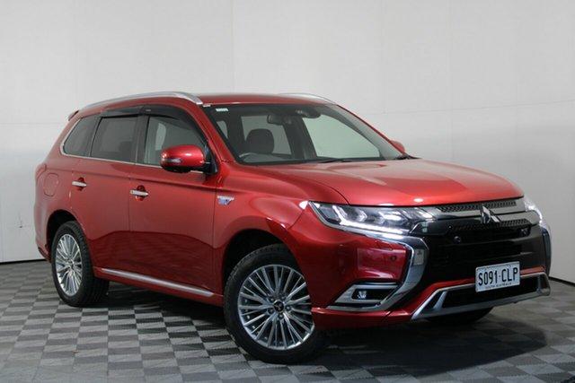 Used Mitsubishi Outlander ZL MY19 PHEV AWD Exceed Wayville, 2019 Mitsubishi Outlander ZL MY19 PHEV AWD Exceed Red 1 Speed Automatic Wagon Hybrid