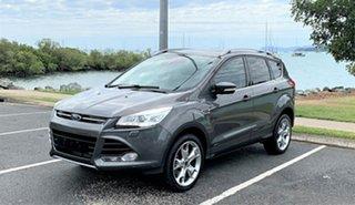 2016 Ford Kuga TF MY15 Titanium PwrShift AWD Automatic Wagon.