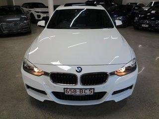 2014 BMW 3 Series F30 MY1114 320i M Sport White 8 Speed Sports Automatic Sedan.
