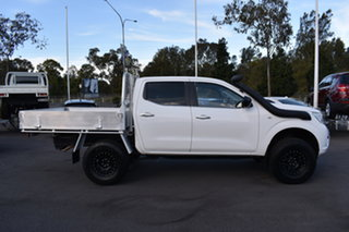 2015 Nissan Navara D23 RX White 7 Speed Sports Automatic Cab Chassis.