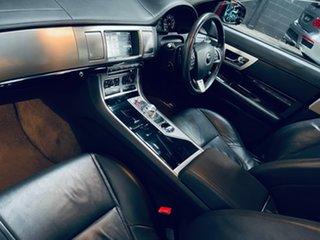 2014 Jaguar XF X250 MY15 Premium Luxury Red 8 Speed Sports Automatic Sedan