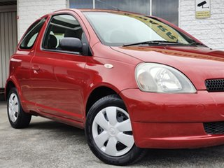 2002 Toyota Echo NCP10R Red 4 Speed Automatic Hatchback