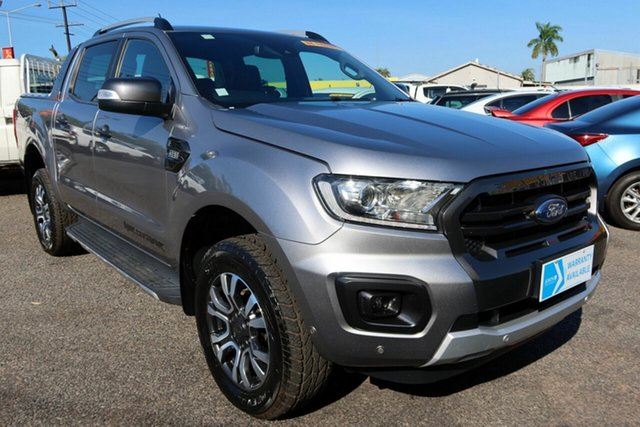Used Ford Ranger PX MkIII 2019.00MY Wildtrak Winnellie, 2019 Ford Ranger PX MkIII 2019.00MY Wildtrak Silver 6 Speed Sports Automatic Double Cab Pick Up