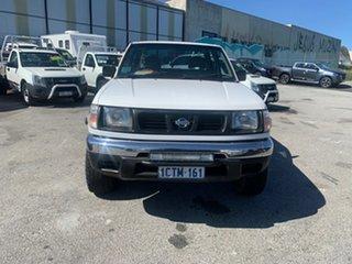 1999 Nissan Navara D22 DX (4x4) White 5 Speed Manual 4x4 Dual Cab Pick-up.