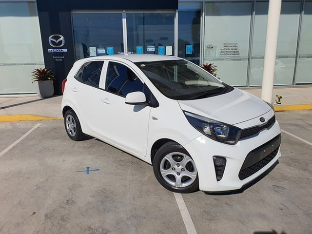 Used Kia Picanto JA MY18 S Kirrawee, 2017 Kia Picanto JA MY18 S White 4 Speed Automatic Hatchback