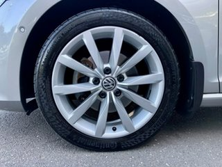 2015 Volkswagen Golf VII MY15 103TSI DSG Highline Silver, Chrome 7 Speed.
